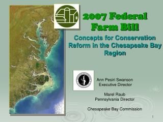 2007 Federal  Farm Bill Concepts for Conservation Reform in the Chesapeake Bay Region