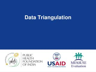 Data Triangulation