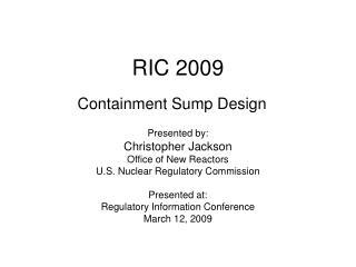 RIC 2009