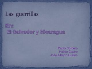 Las  guerrillas
