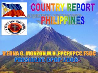 COUNTRY REPORT PHILIPPINES