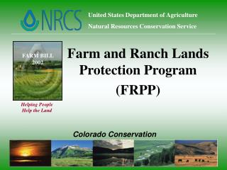 United States Department of Agriculture Natural Resources Conservation Service