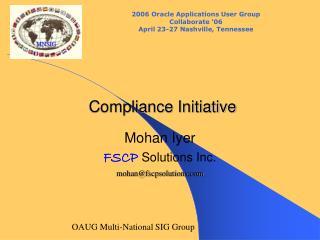 Compliance Initiative
