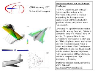Research Assistant in CFD for Flight Mechanics