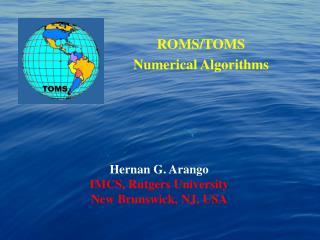 ROMS/TOMS  Numerical Algorithms