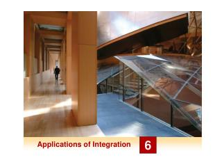 Applications of Integration