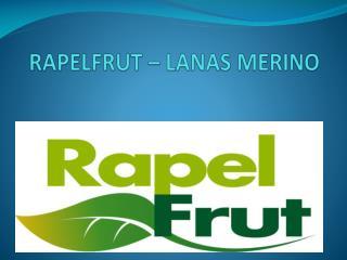 RAPELFRUT � LANAS MERINO