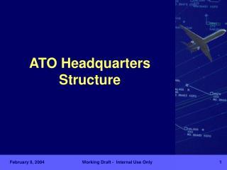 ATO Headquarters Structure