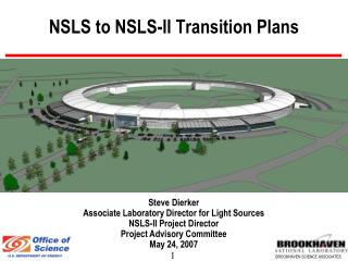NSLS to NSLS-II Transition Plans