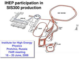 IHEP participation in SIS300 production
