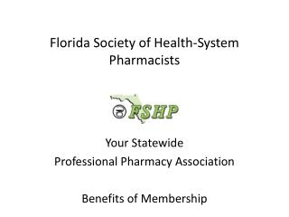 Florida Society of Health-System Pharmacists