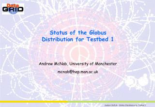 Status of the Globus Distribution for Testbed 1