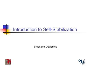 Introduction to Self-Stabilization