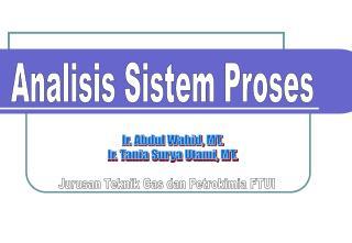 Analisis Sistem Proses