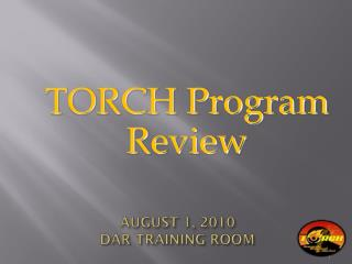 AUGUST 1, 2010  DAR TRAINING ROOM