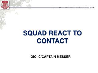 SQUAD REACT TO CONTACT