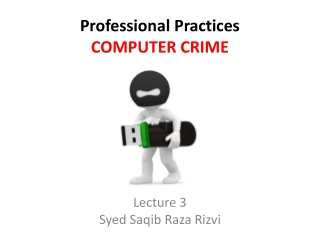 Types of computer crime        Preventing computer crime
