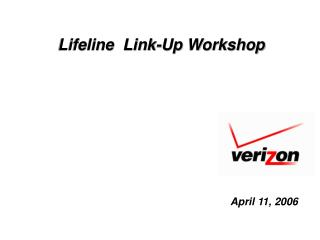 Lifeline  Link-Up Workshop