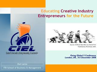 Educating  Creative Industry Entre preneurs  for the Future