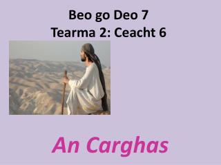 Beo go Deo 7 Tearma 2: Ceacht 6