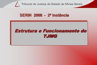 Estrutura e Funcionamento do TJMG