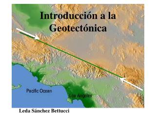 Introducción a la Geotectónica