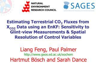 Liang Feng, Paul Palmer geos.ed.ac.uk/eochem Hartmut B ösch and Sarah Dance
