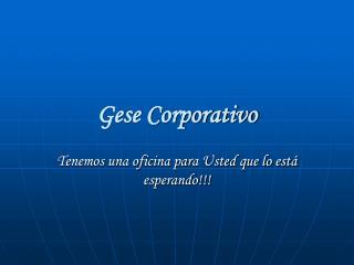 Gese Corporativo