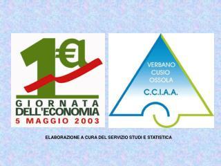 ELABORAZIONE A CURA DEL SERVIZIO STUDI E STATISTICA