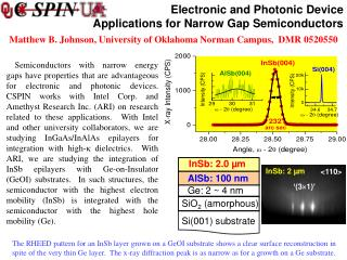 Electronic and Photonic Device  Applications for Narrow Gap Semiconductors