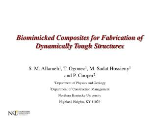 Biomimicked Composites for Fabrication of Dynamically Tough Structures