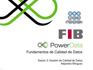 Fundamentos de Calidad de Datos
