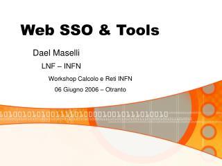 Web SSO & Tools