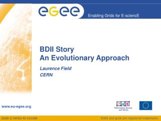 BDII Story An Evolutionary Approach