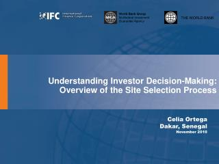Understanding Investor Decision-Making: Overview of the Site Selection Process