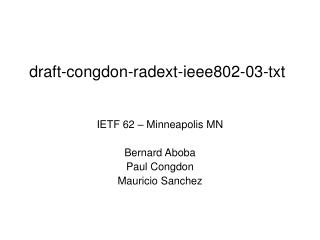 draft-congdon-radext-ieee802-03-txt