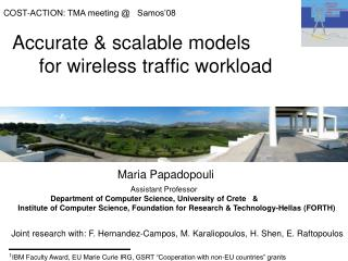 Accurate & scalable models       for  wireless traffic  workload