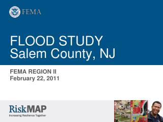 FLOOD STUDY Salem County, NJ