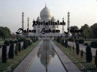 Perislitalah  Dalam  Hukum  Islam