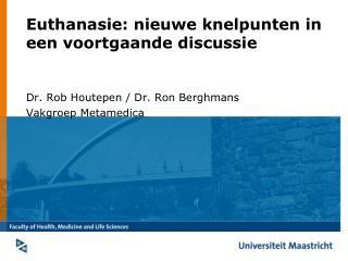 Euthanasie: nieuwe knelpunten in een voortgaande discussie