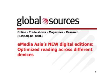 eMedia Asia's NEW digital editions: Optimized reading across different devices