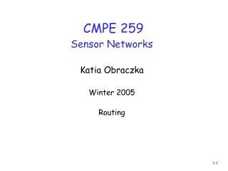 CMPE 259