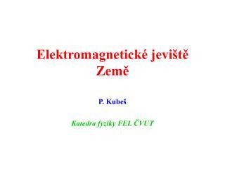 Elektromagnetické jeviště Země