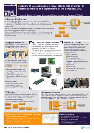 2D Detectors DAQ Overview