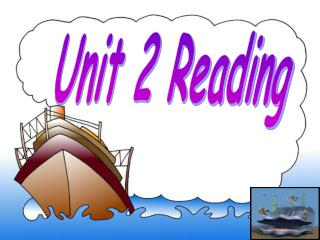 Unit 2 Reading