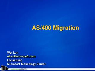 AS400 Migration