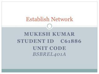 Establish Network