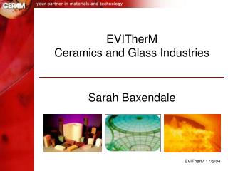 EVITherM Ceramics and Glass Industries