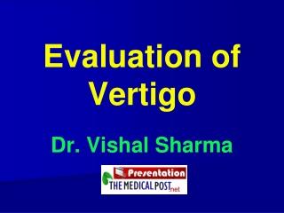 Testing Vestibular Function