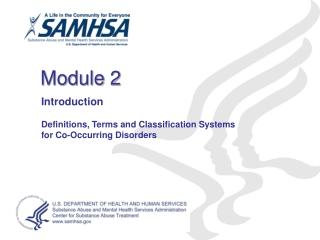 Module: Emotional Disorders